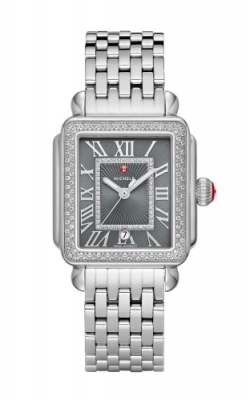 Michele Deco Madison Stainless Steel Diamond Watch MW06T01A1124_MS18AU235009 product image