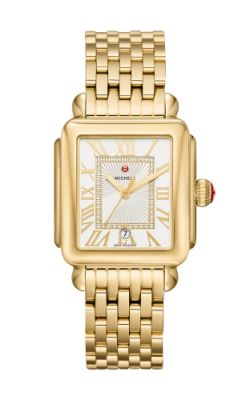 Michele Deco Madison Gold Diamond Dial Watch MW06T00A9018 MS18AU246710 product image