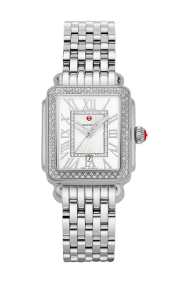 Michele Deco Madison Mid Stainless Steel Diamond Watch MW06G01A1018_MS16DM235009