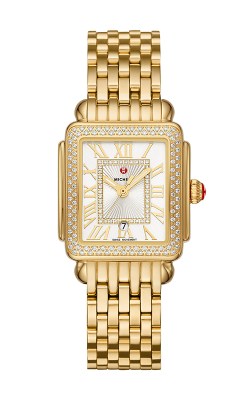 Michele Deco Madison Mid Gold Diamond Watch MW06G01B0018_MS16DM246710 product image