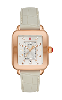 Michele Deco Sport Rose Gold and Cashmere Watch MWW06K000008 product image