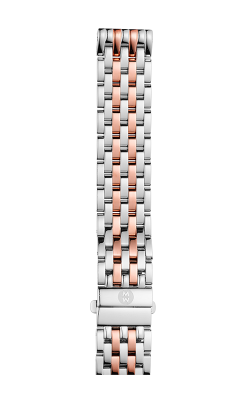 Michele 16mm Deco Mid Two-Tone Pink Gold 7-link Bracelet MS16DM775045 product image