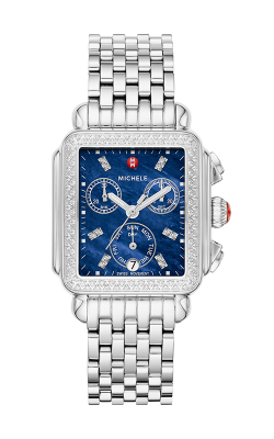 Michele Signature Deco Stainless-Steel Diamond Watch MW06P01A1135 MS18AU235009 product image