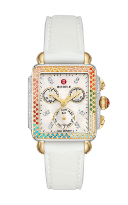 Michele Deco Carousel Two-Tone Diamond Watch MWW06P000297 product image