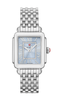 Michele Deco Madison Mid Stainless Diamond Dial Watch MW06G00A0145 MS16DM235009 product image