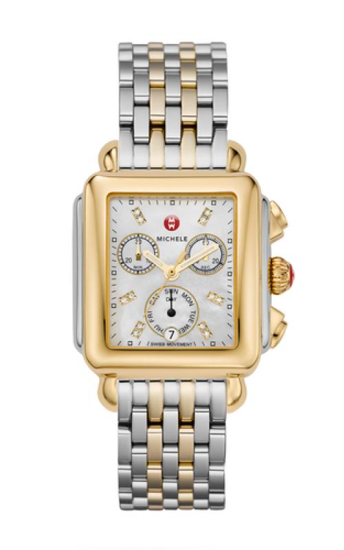 Signature Deco Non-Diamond Two-Tone, Diamond Dial Two Tone Watch product image