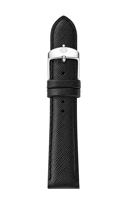 Michele 20mm Black Saffiano Strap MS20AB060018 product image