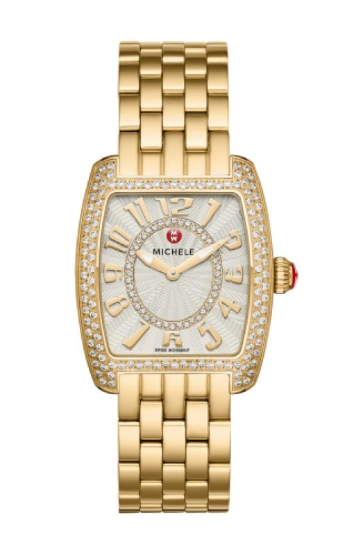 Michele Urban Mini Diamond Gold, Diamond Dial Watch product image