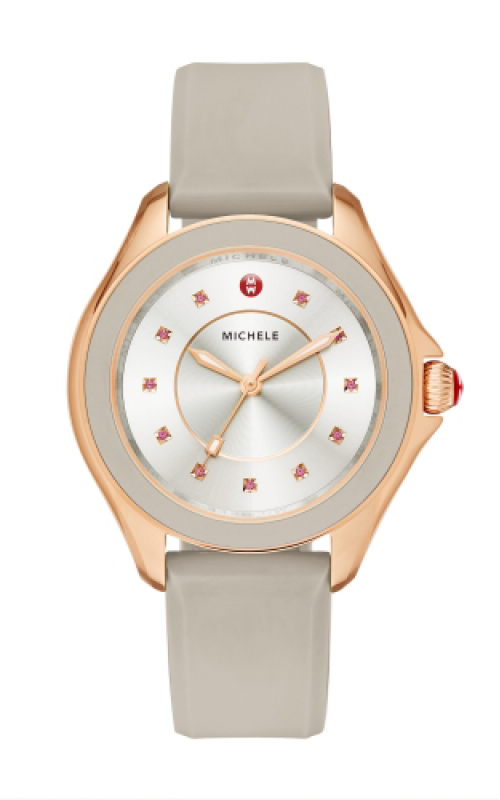 Michele Cape Taupe Rose Gold, Topaz Dial product image