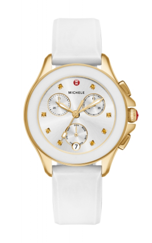 Michele Cape Chrono White Gold, Topaz Dial product image