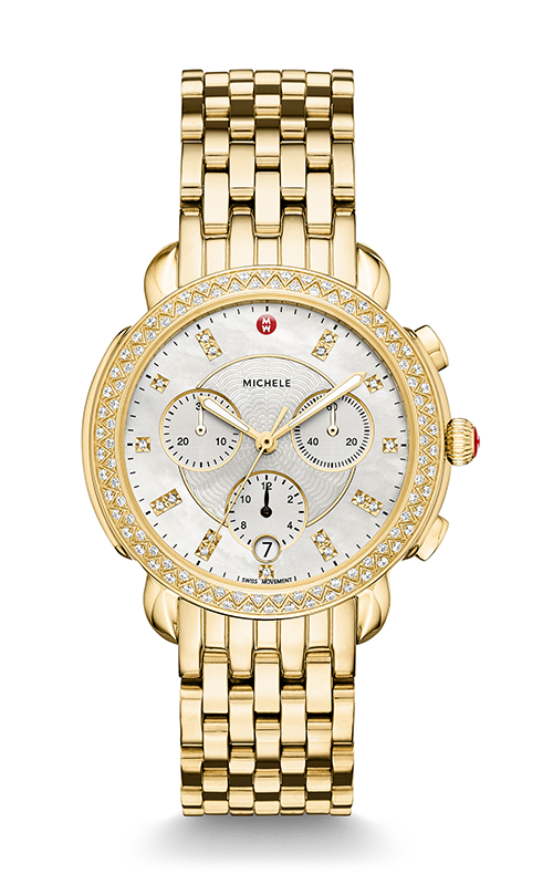 Michele Sidney Diamond Gold, Diamond Dial Watch MW30A01B0046_MS18GA246710 product image