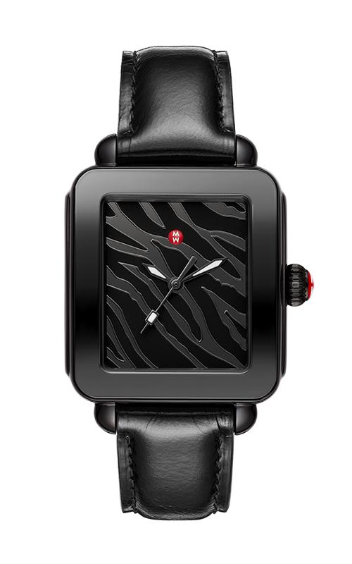 Michele Deco Sport Black Watch, Black IP MWW06K000050
