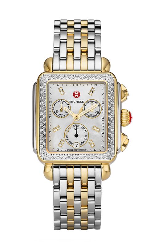 Signature Deco Two-Tone Diamond, Diamond Dial Watch product image