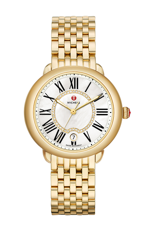 Michele Serein Mid Gold, Diamond Dial Watch MW21B00A9963_MS16DH246710 product image