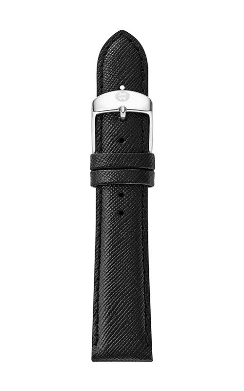 Michele 20mm Black Saffiano Strap MS20AB060018 product image