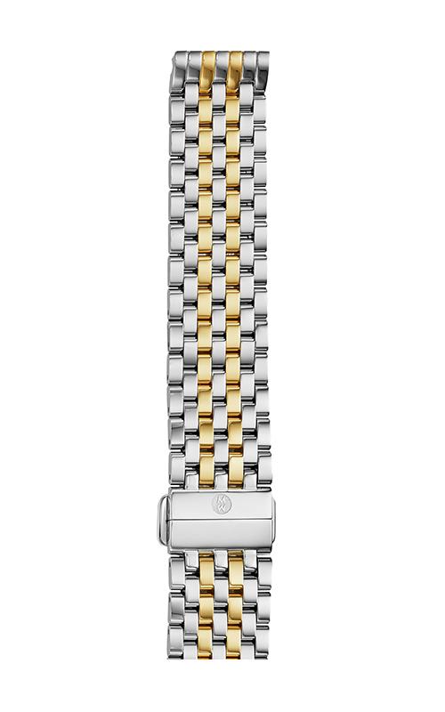 Michele 18mm Deco 7-Link Two-Tone Bracelet MS18AU285048 product image