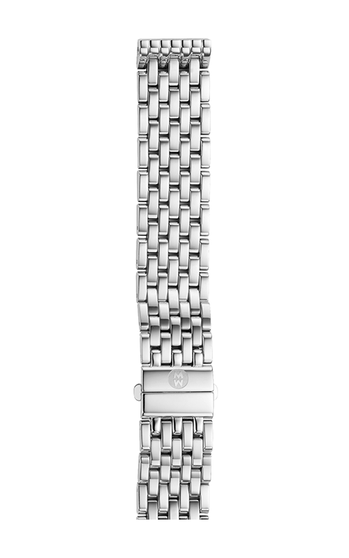 Michele 16mm Deco Mid 7-Link Stainless Steel Bracelet MS16DM235009 product image