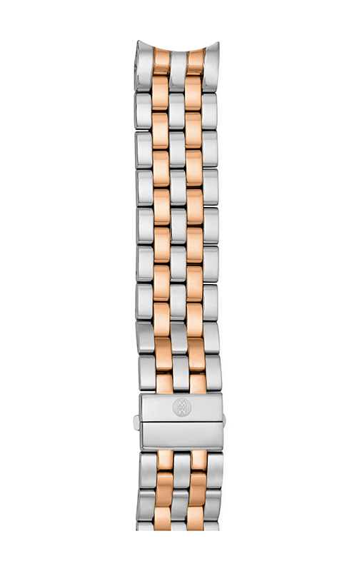 Michele 20mm Sport Sail Large Two-Tone Rose Gold Bracelet MS20CY315750 product image