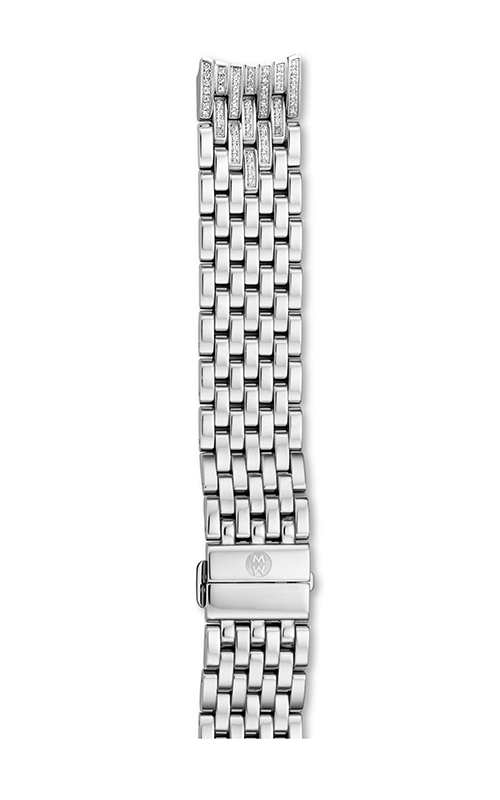 Michele 16MM Serein Mid 7-Link Diamond Bracelet MS16FK235009 product image