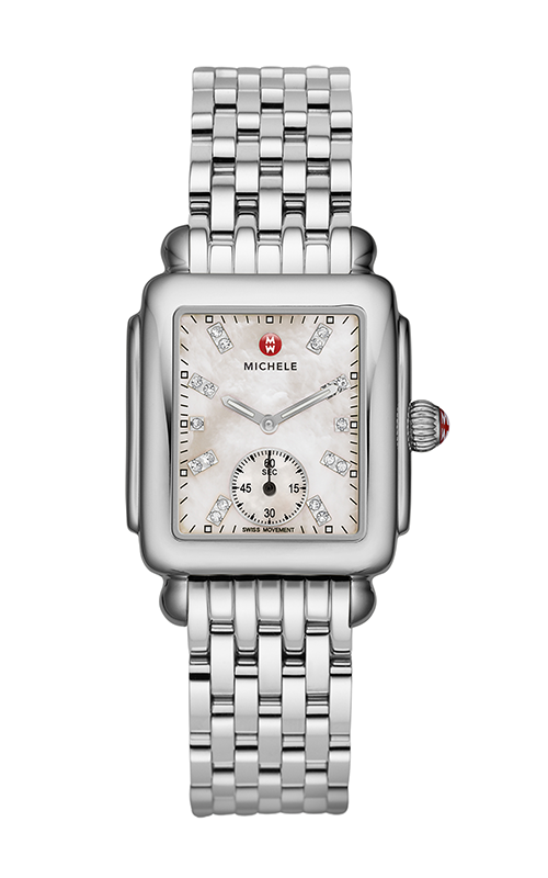 Michele Deco Mid, Diamond Dial Watch product image