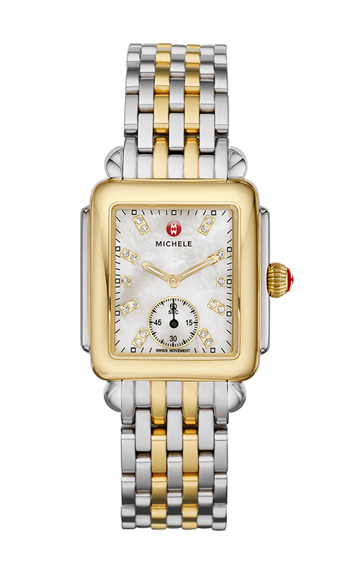 Michele Deco Mid Two-Tone, Diamond Dial Watch product image