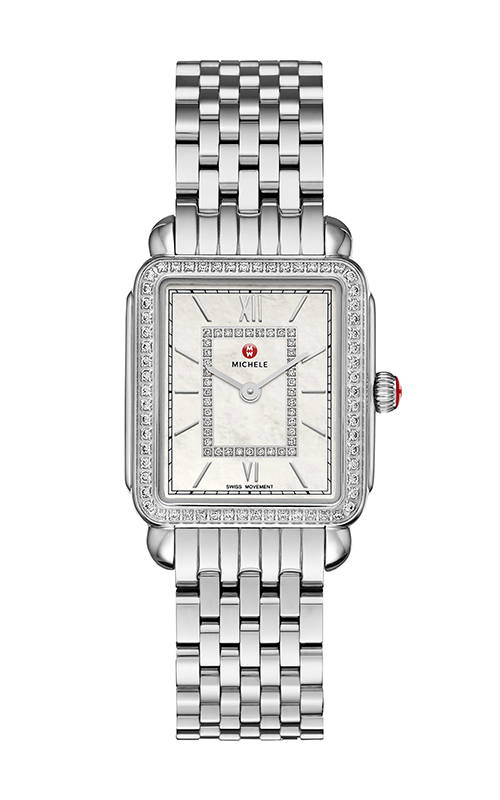 Michele Deco II Mid Diamond, Diamond Dial Watch product image
