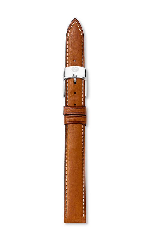 Michele 12MM Saddle Calfskin Strap MS12AA270216 product image