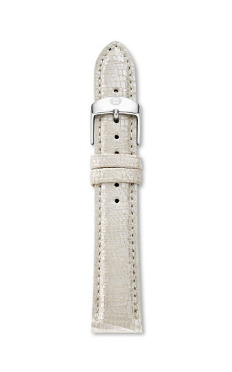 Michele 16mm Metallic Pearl Leather MS16AA430114 product image