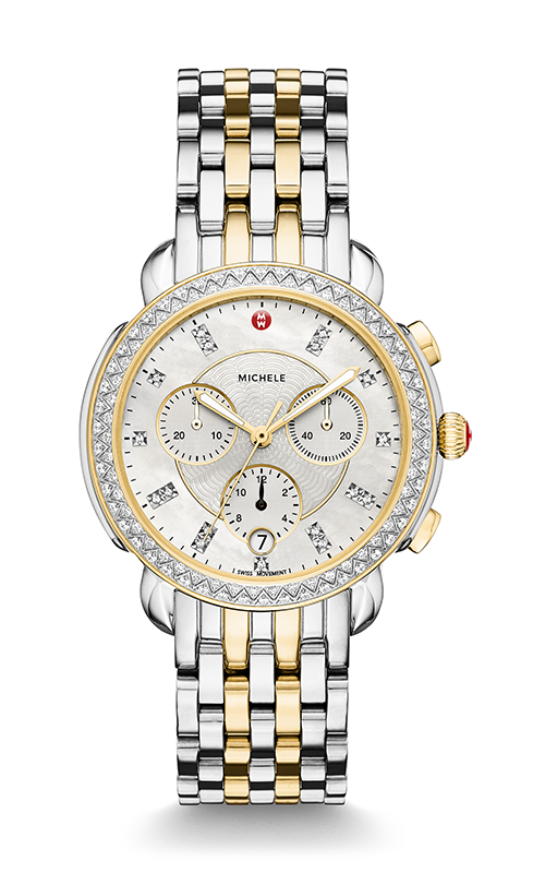 Michele Sidney Diamond Two-Tone, Diamond Dial Watch MW30A01C5046_MS18GA285048 product image