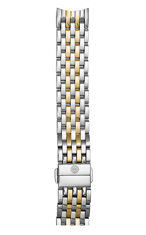 Michele 18MM Sidney Two-Tone 7-link Bracelet MS18GA285048 product image
