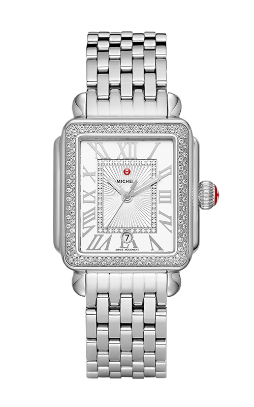 Michele Deco Madison Stainless Steel Diamond Watch MW06T01A1018_MS18AU235009 product image