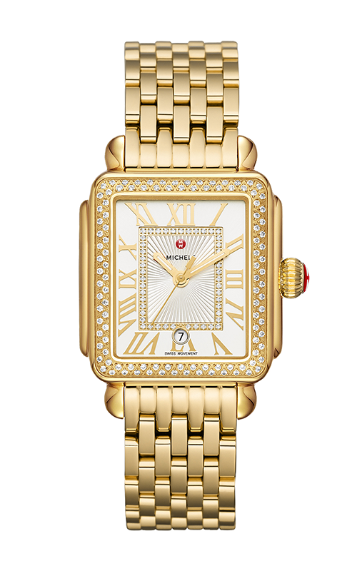 Michele Deco Madison Gold Diamond Watch MW06T01B0018_MS18AU246710 product image