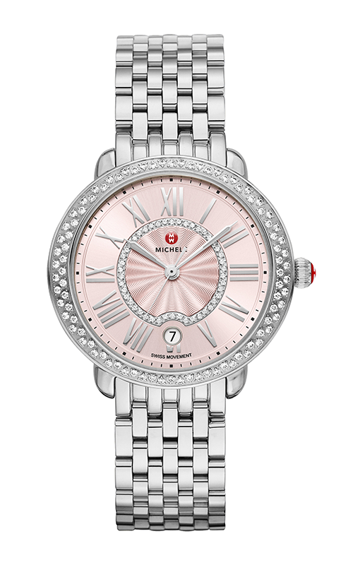 Serein Mid Stainless-Steel Blush Diamond Watch MW21B01A1115_MS16DH235009 product image