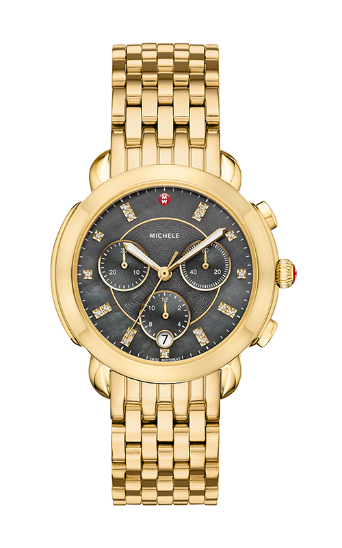 Michele Sidney Gold Diamond Dial Watch MW30A00A9127_MS18GA246710 product image