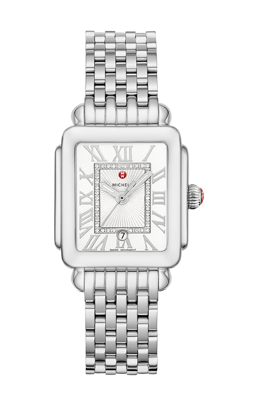 Michele Deco Madison Mid Stainless Steel Diamond Dial Watch MW06G00A0120_MS16DM235009 product image