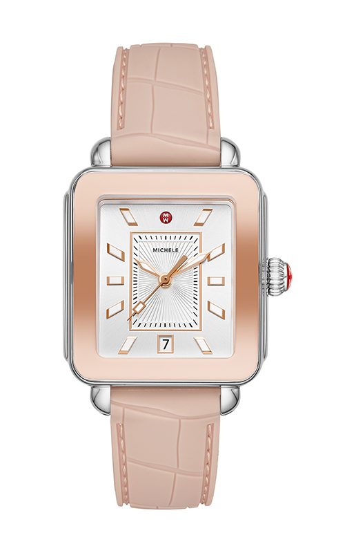 Michele Deco Sport Two-Tone Pink Gold Watch MWW06K000015 product image