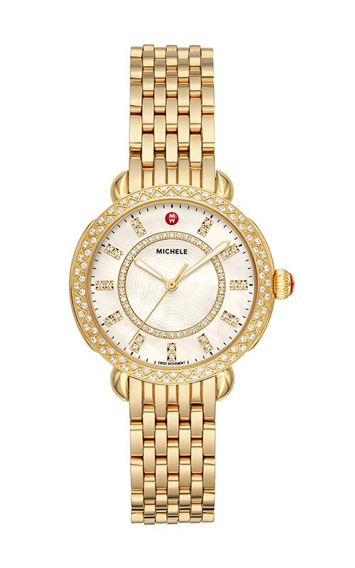 Michele Sidney Classic Gold Diamond Watch MWW30B000004 product image