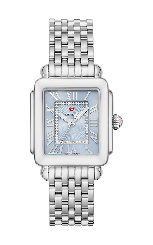 Michele Deco Madison Mid Stainless Diamond Dial Watch MW06G00A0145_MS16DM235009 product image