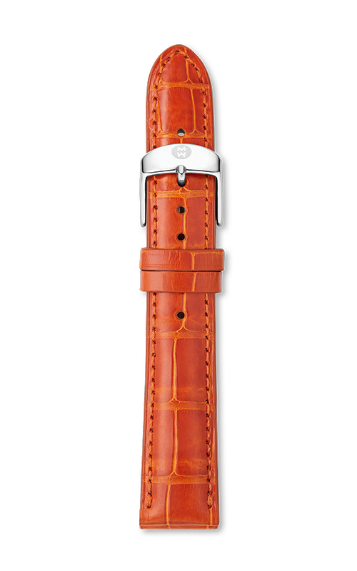 Michele 18mm Sunset Alligator Leather Strap MS18AA510726 product image