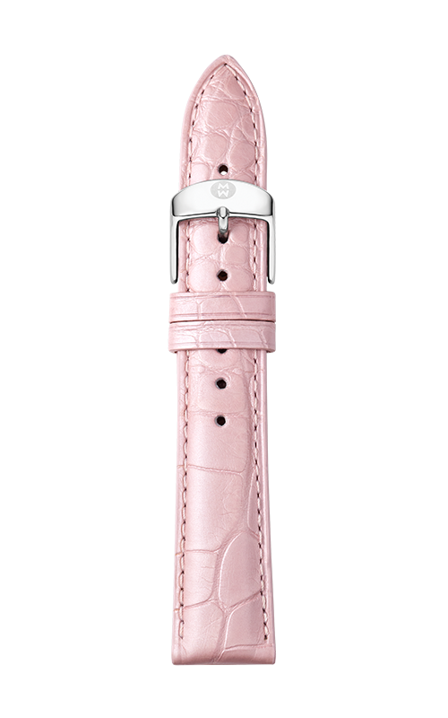 Michele 18mm Lilac Alligator Leather Strap MS18AA510534   product image