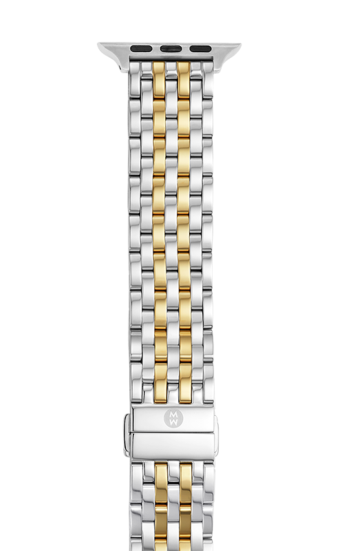 Michele 38/40mm and 42/44mm Two-Tone 18K Gold-Plated Bracelet Band for Apple Watch® MS20GL285048   product image