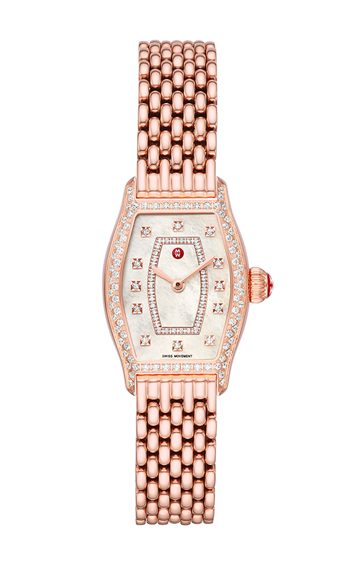 Michele Special-Edition Coquette Pink Gold Diamond Watch MWW08A000243 product image