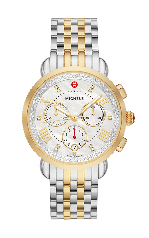 Michele Sport Sail Watch, Two-Tone MWW01C000142 product image