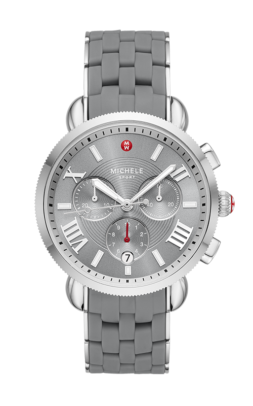 Michele Sporty Sports Sail Slate Watch, Stainless Steel MWW01P000013 product image