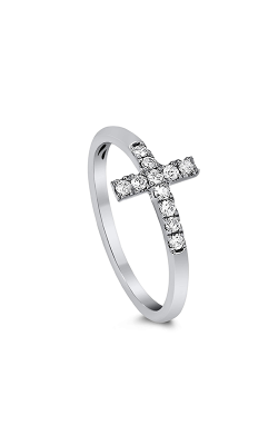 Odelia Diamond Cross Ring ALR-7382 product image
