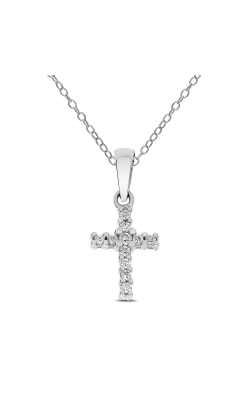 Odelia Diamond Cross Pendant With Chain ACR-6701 product image