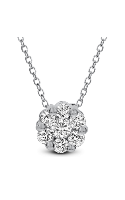 Odelia Diamond Small Flower Shape Pendant APD-12259 product image