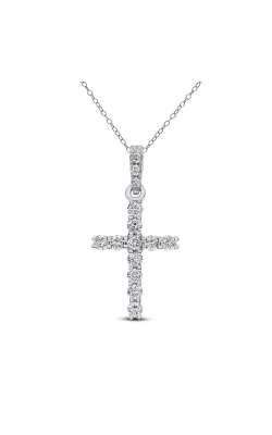 Odelia Diamond Cross Pendant With Chain ACR-6693 product image