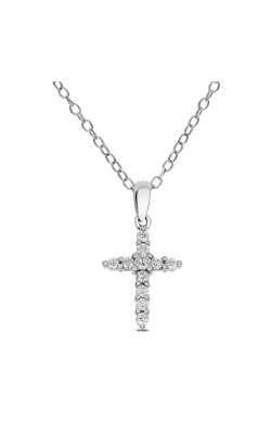 Odelia Diamond Cross Pendant With Chain ACR-6702 product image
