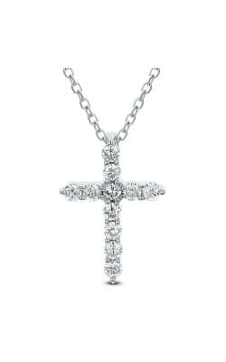 Odelia Diamond Cross Pendant With Chain ACR-13300 product image